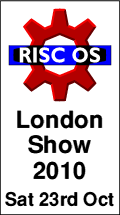 RISC OS London Show 2010