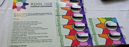 RISC OS Open Ltd's Native|Emulate USB sticks