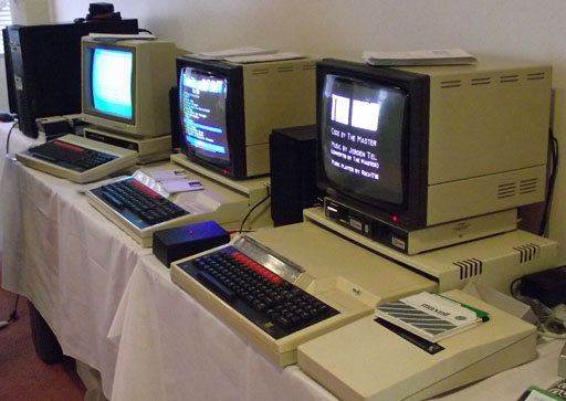 A selection of BBC computers from the Centre for Computing History