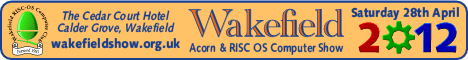Wakefield Acorn & RISC OS Computer Show 2012