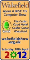 Wakefield RISC OS Computer Show, 2012
