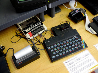 ZX Spectrum and peripherals by Marcin Wichary