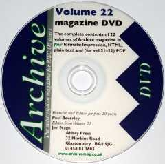 Archive Magazine DVD