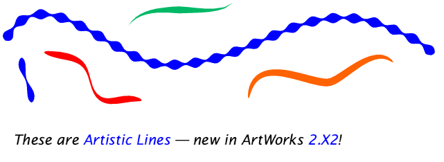 Example artistic lines, shamelessly stolen from the MW Software website
