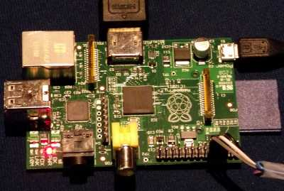 Raspberry Pi on the RISC OS Open stand