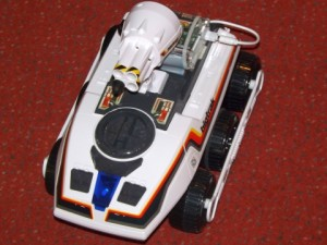 An armed and ARMed (via the Raspberry Pi) BigTrak