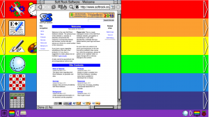 A full size screen-grab of RISC OS Rainbow (1920 x 1080)