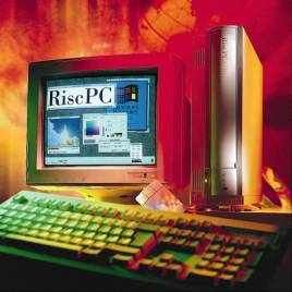 A RiscPC 600 promotional photograph