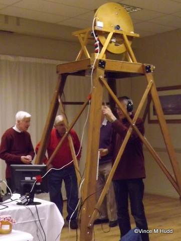 Bell ringing at RISC OS Southwest 2015