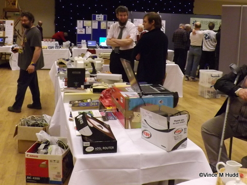 The charity stand at RISC OS Southwest 2015