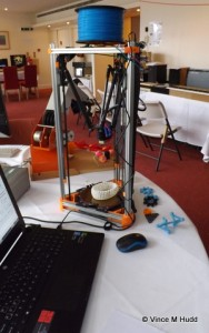 A 3D printer at London 2015