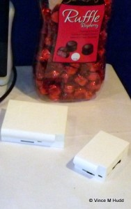 Raspberry Pi cases, and Raspberry Ruffles at London 2015