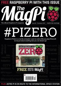 MagPi issue 40 - with free computer!