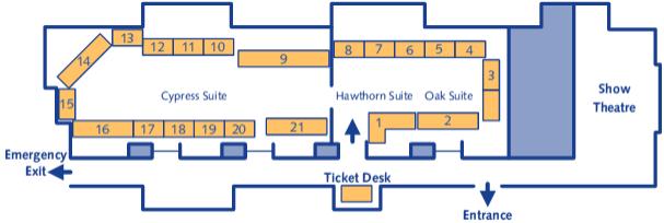 Wakefield Show floor plan