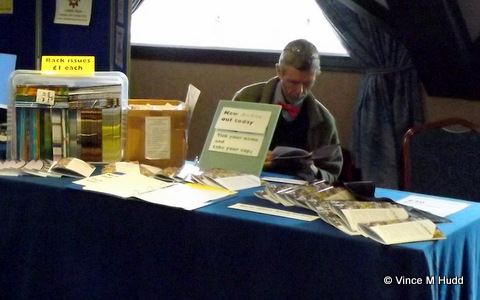 Paul Beverley reading the latest Archive, Wakefield 2016