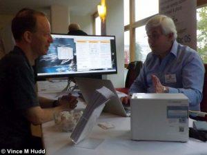 ROUGOL's Bryan Hogan talking to Orpheus Internet's Richard Brown, London 2016