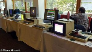 A range of 8-bit exhibitors at London 2016