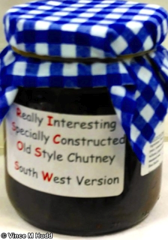 A RISC OS SW themed chutney at RISC OS Southwest 2017