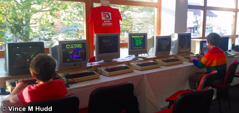 Retro Software (and Tricky Gaming?) at London 2017