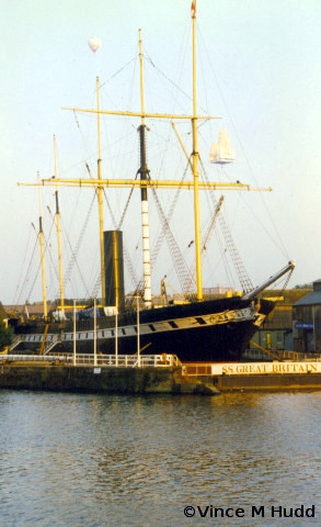 The SS Great Britain - one of Bristol's many visitor attractions