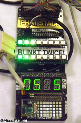 Full phat - a variety of LED displays on a single Raspberry Pi at Southwest 2018