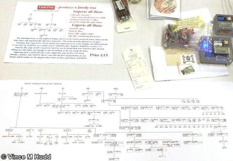 Chris Hall's FamTree - and, er, Chris Hall's family tree - at Southwest 2018