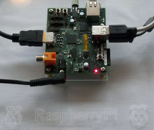 The Raspberry Pi at the RISC OS London Show in October 2011