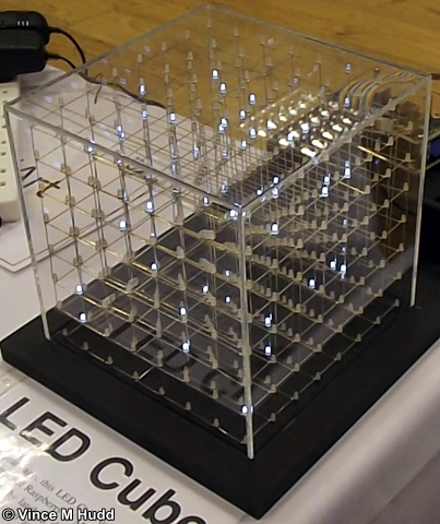 Andrew Conroy's LED cube at Southwest 2018