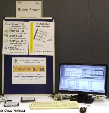 Steve Fryatt's stand at Southwest 2018