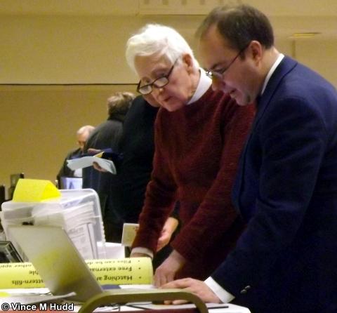 Martin Würthner and John Norris, at Southwest 2018