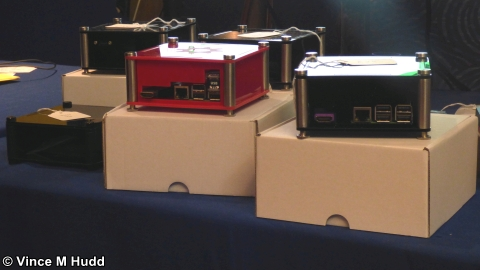 The RISCOSbits multicoloured box shop at Wakefield 2018