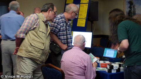 Busy on the MW Software and RISCOSbits stands at Wakefield 2018
