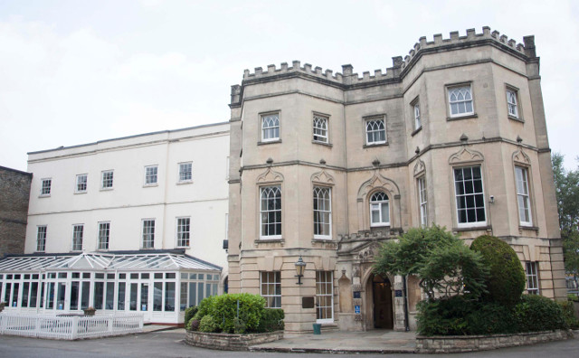 The Arnos Manor Hotel in Bristol