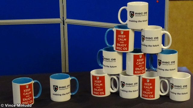 The RISC OS Developments mugs at Wakefield 2019
