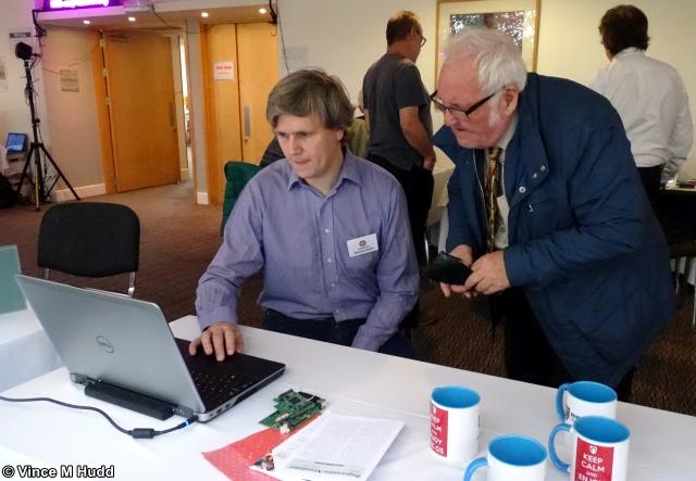 Richard Keefe and Ron Briscoe at London 2019