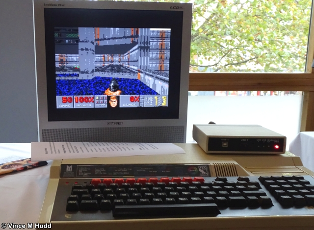 Doom on a BBC Master at London 2019